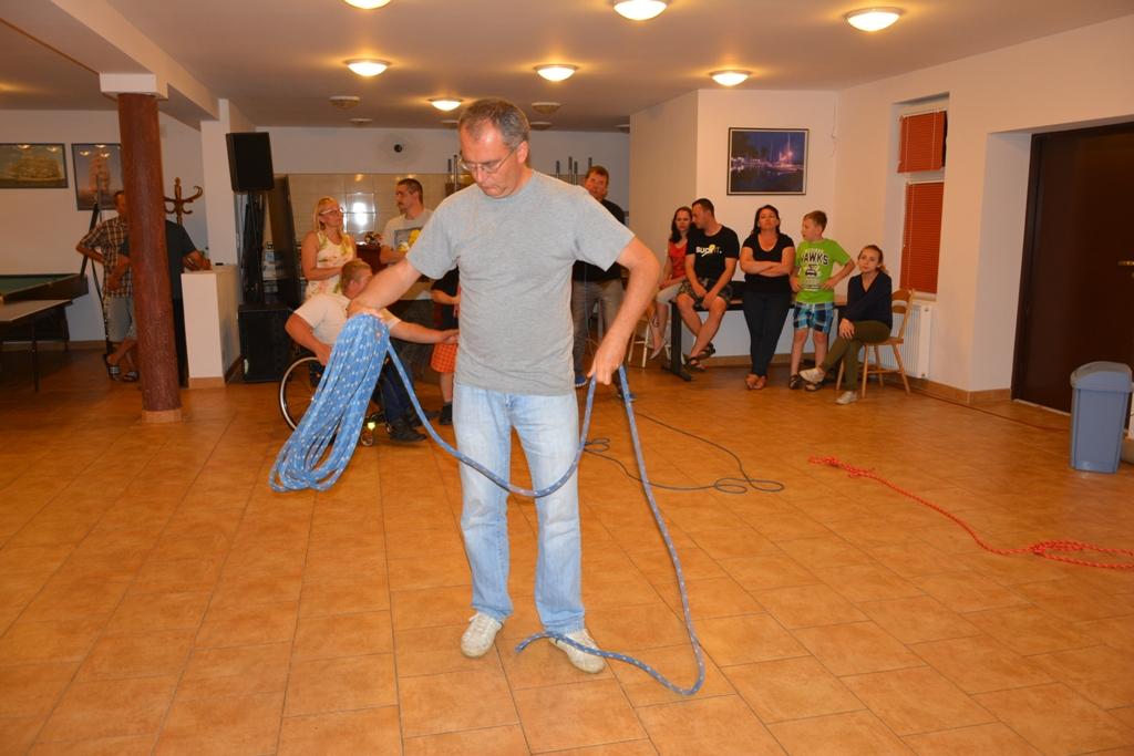 Przeglądasz zdjęcia w artykule: II Warsztaty Żeglarskie Osób Niepełnosprawnych 13.07 - 26.07.2016 r.