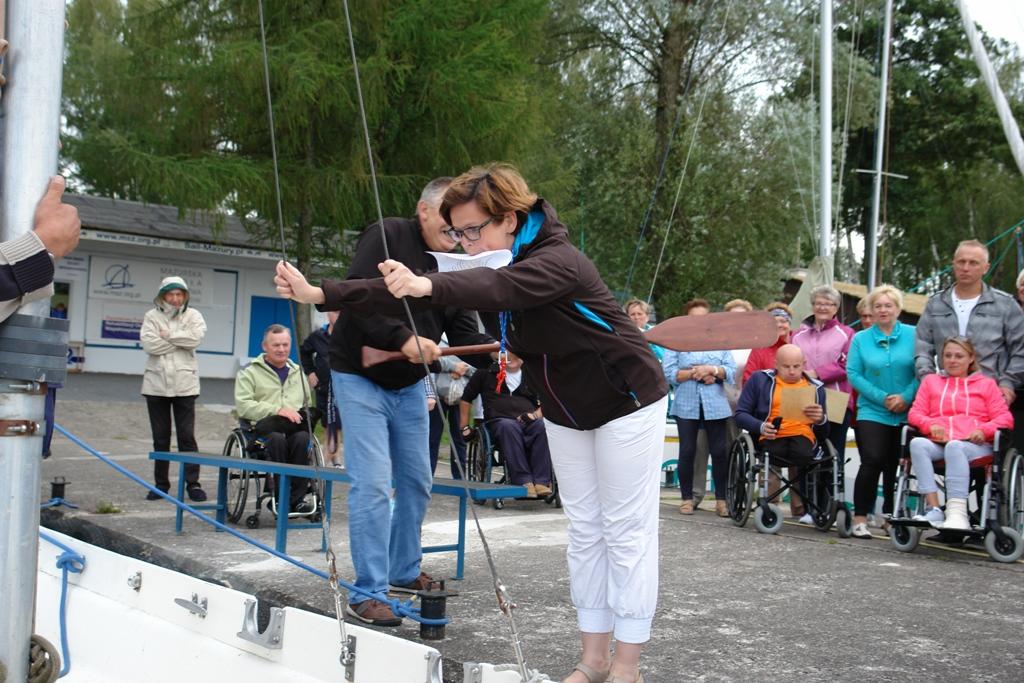 Przeglądasz zdjęcia w artykule: III Warsztaty Żeglarskie  Osób Niepełnosprawnych  28.07. – 10.08.2016 r.