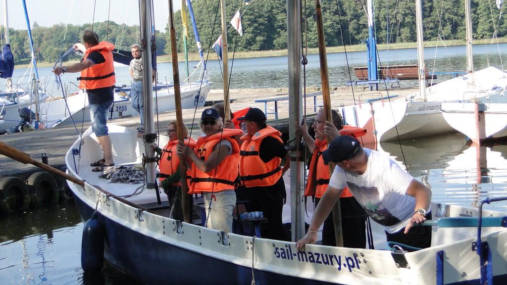 Przeglądasz zdjęcia w artykule: IV Żeglarskie Mistrzostwa Makroregionu Pomorskiego Niepełnosprawnych  5– 9 września  2016 r.