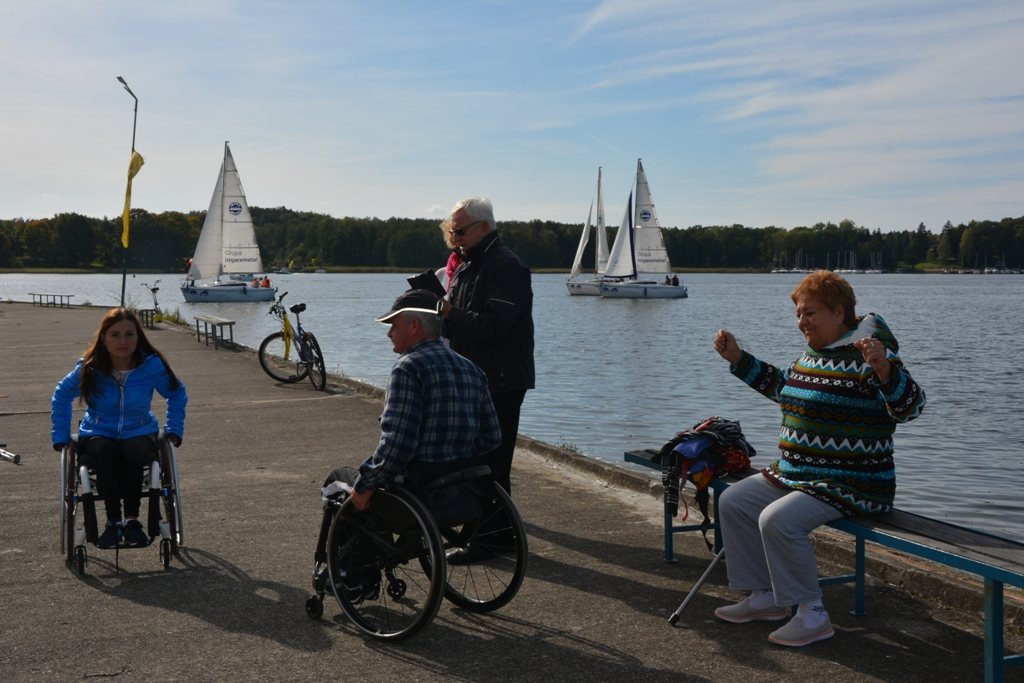 Przeglądasz zdjęcia w artykule: XIII Puchar Polski Żeglarzy Niepełnosprawnych IV Edycja 30 września – 2 października  2016 r.
