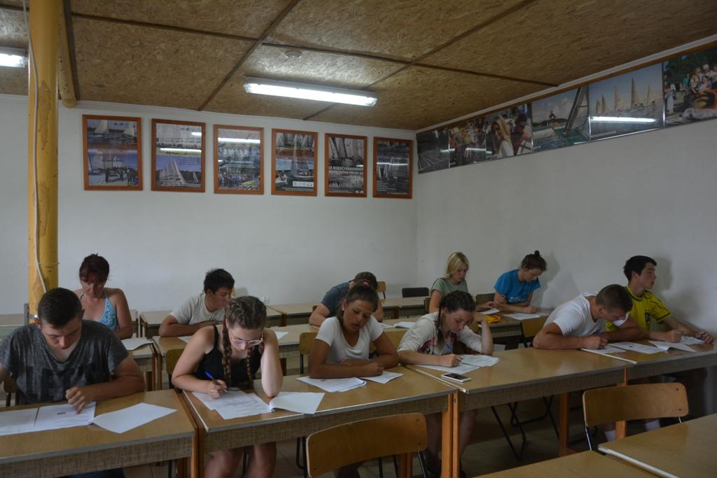 Przeglądasz zdjęcia w artykule: Warsztaty Żeglarskie dla młodzieży polonijnej z Łotwy 31lipca-13 sierpnia 2017 r.