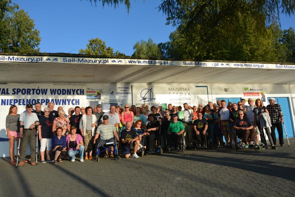 Przeglądasz zdjęcia w artykule: XIV Puchar Polski Żeglarzy Niepełnosprawnych I Edycja 28 – 30 sierpnia  2017 r.