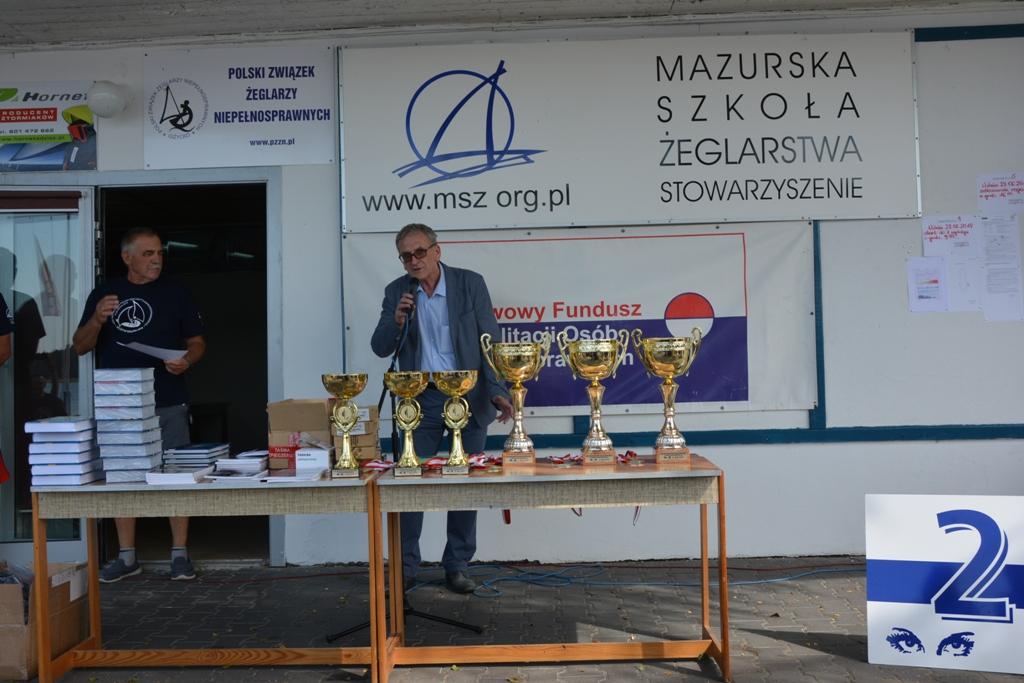 Przeglądasz zdjęcia w artykule: XXIV  Mistrzostwa  Polski  Żeglarzy z Niepełnosprawnością 25 – 28 czerwca 2018 r.