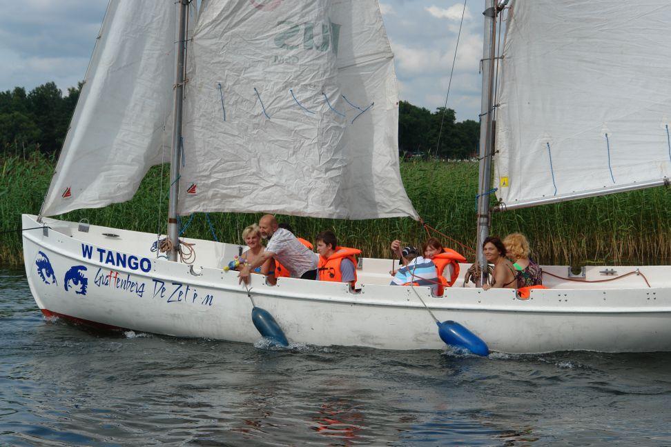 Przeglądasz zdjęcia w artykule: Integracja przez żagle 21 - 27 lipca 2011