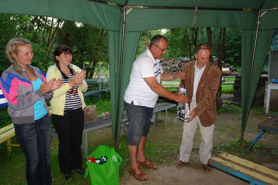 Przeglądasz zdjęcia w artykule: Międzynarodowy Kurs Żeglarski - Litwa, Białoruś, Łotwa 01 - 14 sierpnia 2011