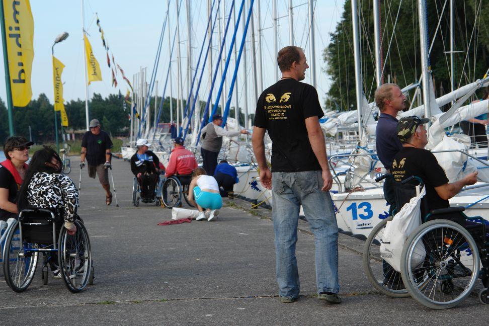 Przeglądasz zdjęcia w artykule: VIII Puchar Polski Żeglarzy Niepełnosprawnych – II Edycja 05 - 06 września 2011