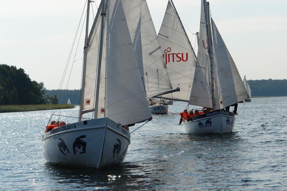 Przeglądasz zdjęcia w artykule: VII Festiwal Sportów Wodnych Osób  Niepełnosprawnych 9 - 11 września 2011
