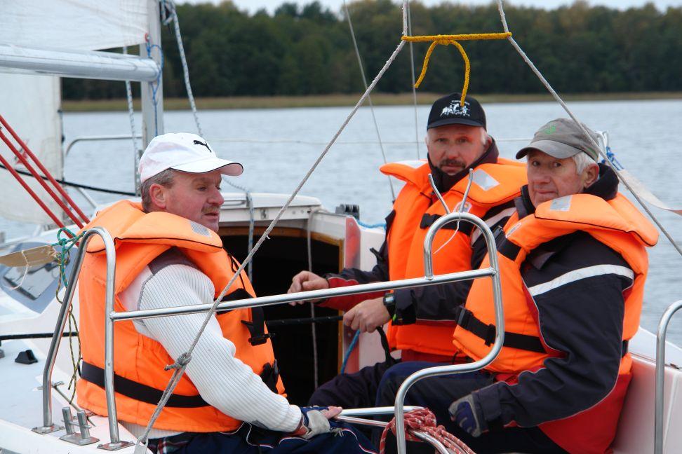 Przeglądasz zdjęcia w artykule: VIII Puchar Polski Żeglarzy Niepełnosprawnych – IV Edycja 15 - 16 października 2011